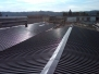 Bonifica amianto e installazione copertura in lamiera grecata