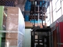 Installazione rete anticaduta sotto copertura